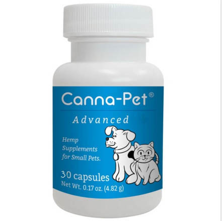 Hemp Supplements for Dogs - Canna-Pet Advanced Small 30