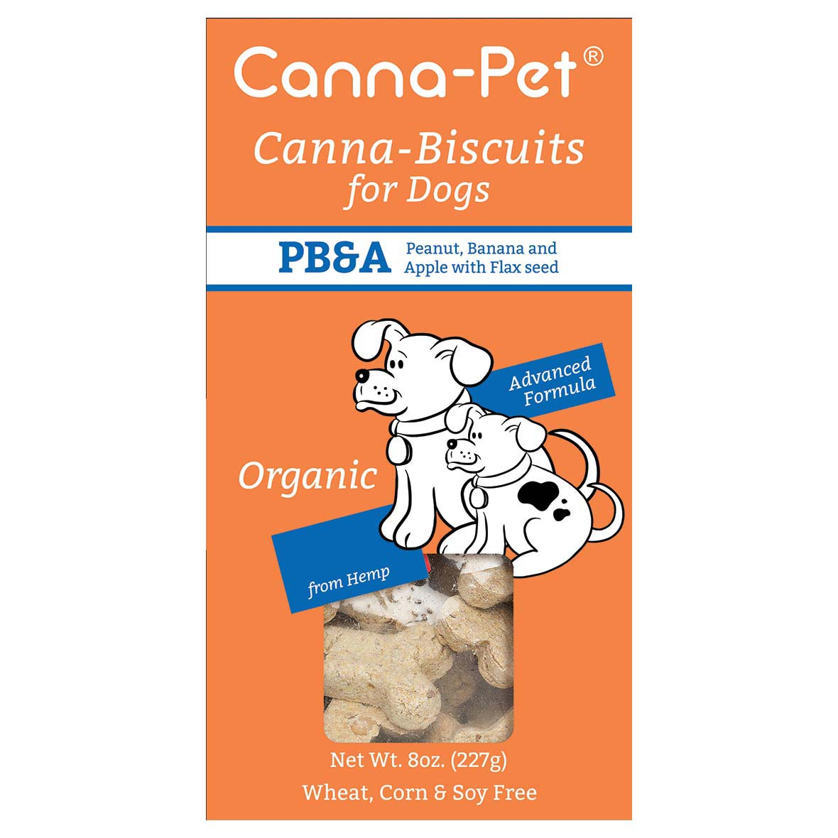Dog Treats - Canna-Pet PBA Biscuit