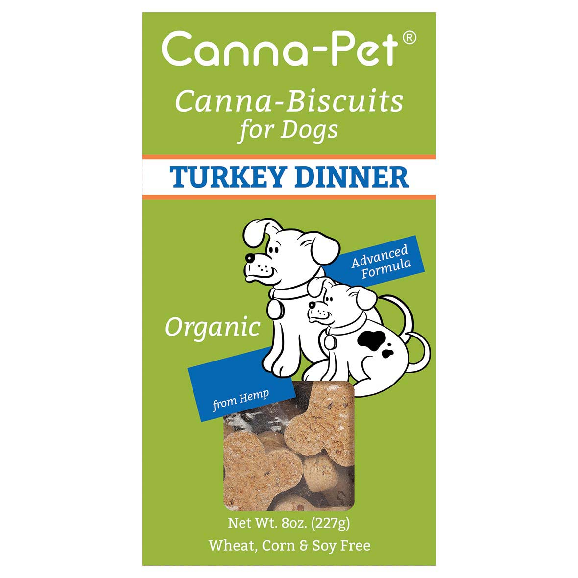 Dog Treats - Canna-Pet Maple Turkey Dinner Biscuit