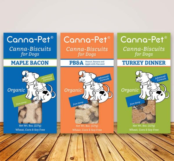 Dog Treats - Canna-Pet Biscuits
